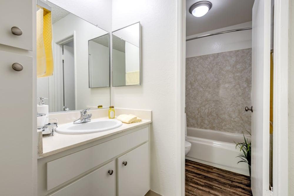 Bathroom at The Arbor