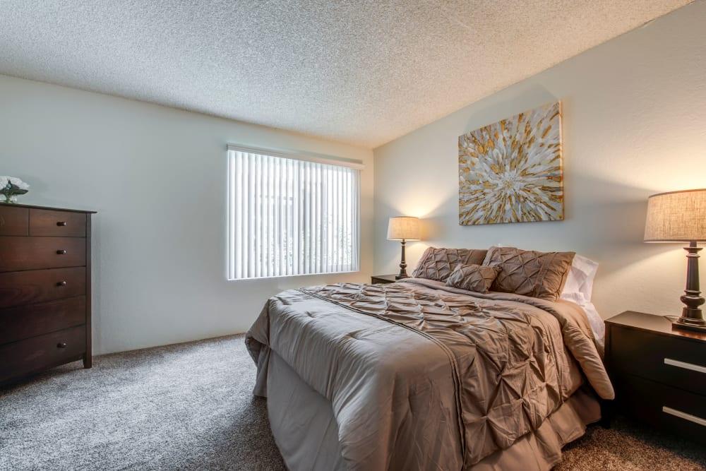 Bedroom at The Arbor in Studio City, California