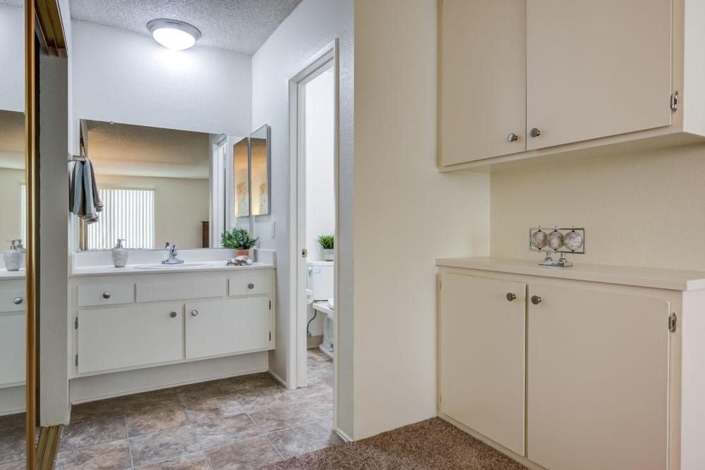 Bathroom at The Arbor in Studio City, California