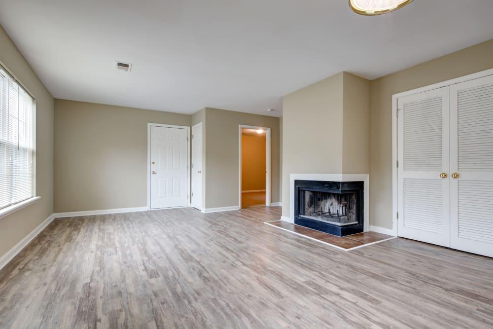 Large roomy  living room at Cooper Creek in Louisville, Kentucky