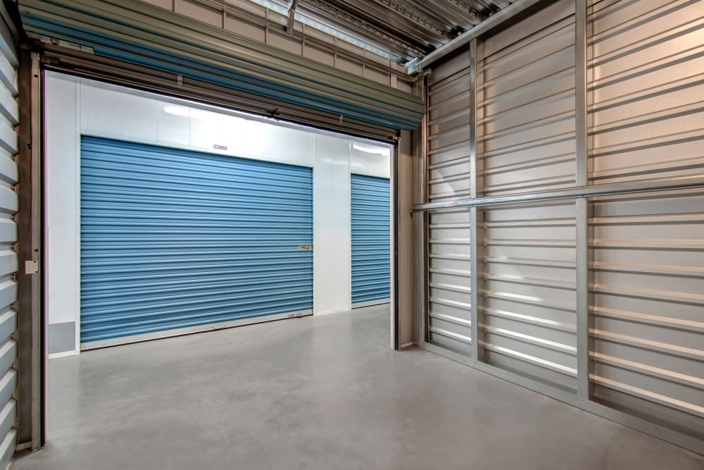 Large interior units at Jamacha Point Self Storage