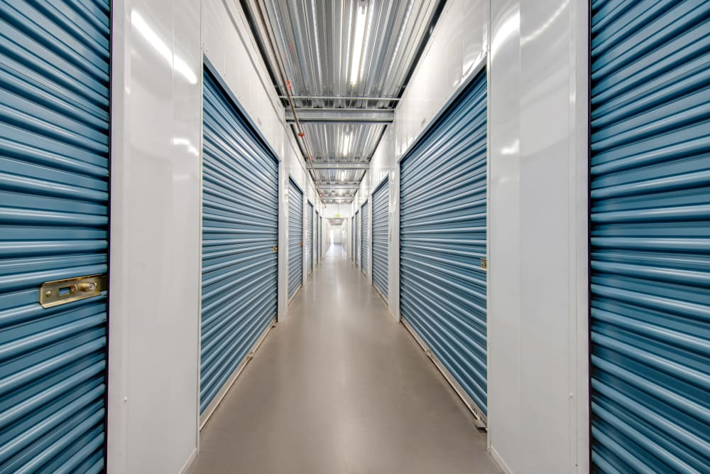 Interior storage units at Jamacha Point Self Storage