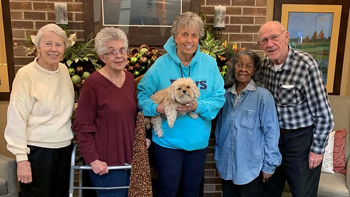 Memory Care residents raise money for local animal shelter