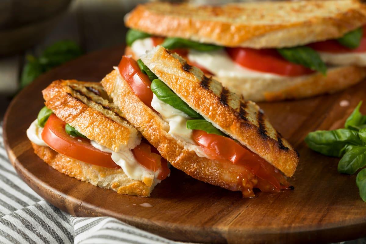 Panini sandwich at Broadwell Senior Living in Kearney, Nebraska