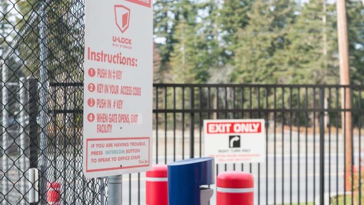 Self storage facilities security