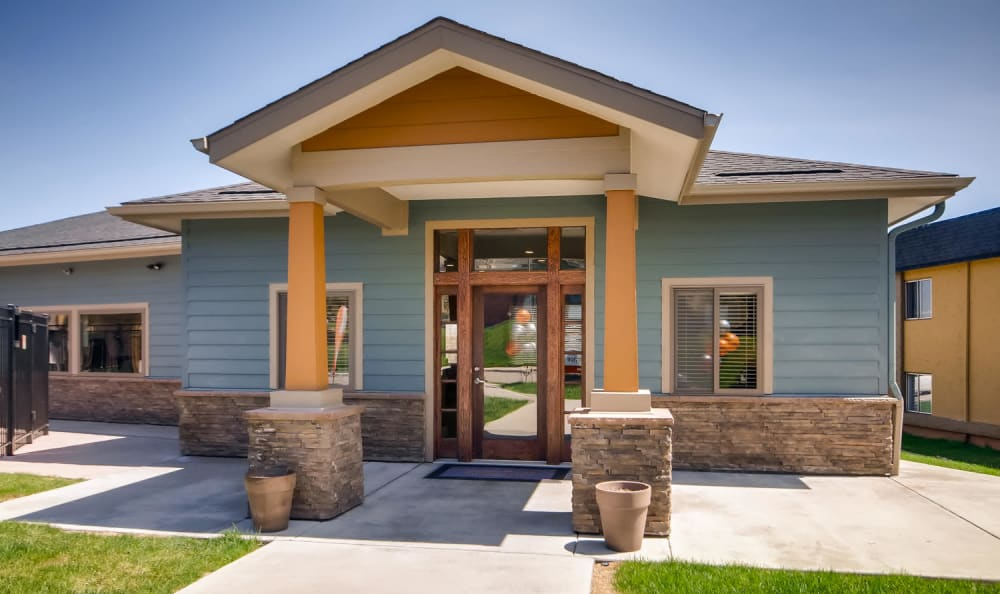 Leasing office at Mountain Vista in Lakewood, Colorado