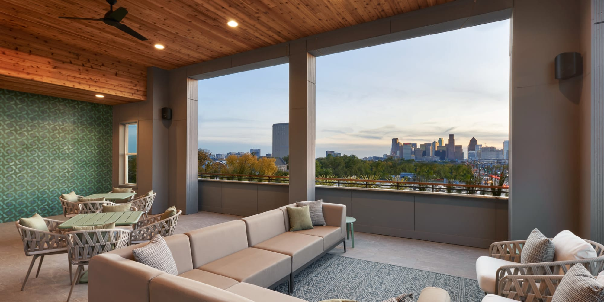 CREA Management in Austin, Texas offers multifamily housing with stunning views