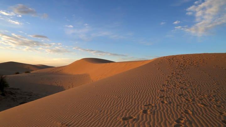 Sand Dune Sunset - Monahans Sandhills State Park