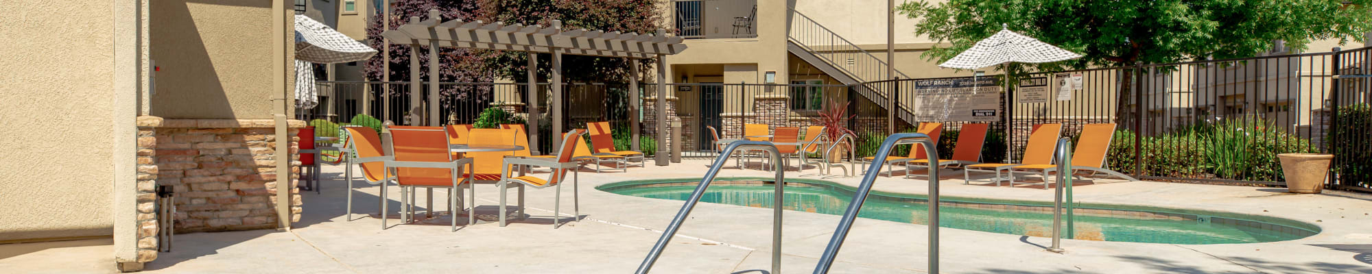 Resident perks at Wolf Ranch Condominium Rentals in Sacramento, California