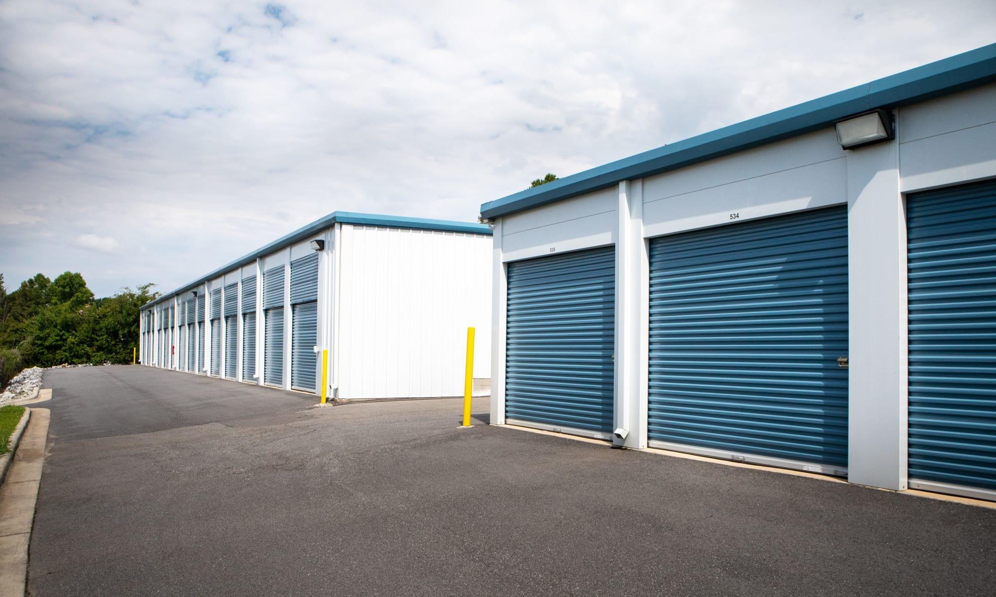 AAA Self Storage at Griffith Rd self storage in Winston Salem, North Carolina