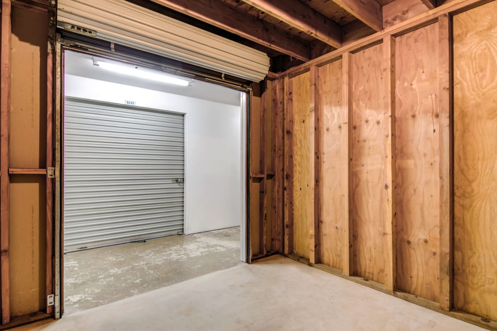Interior unit at Encinitas Self Storage