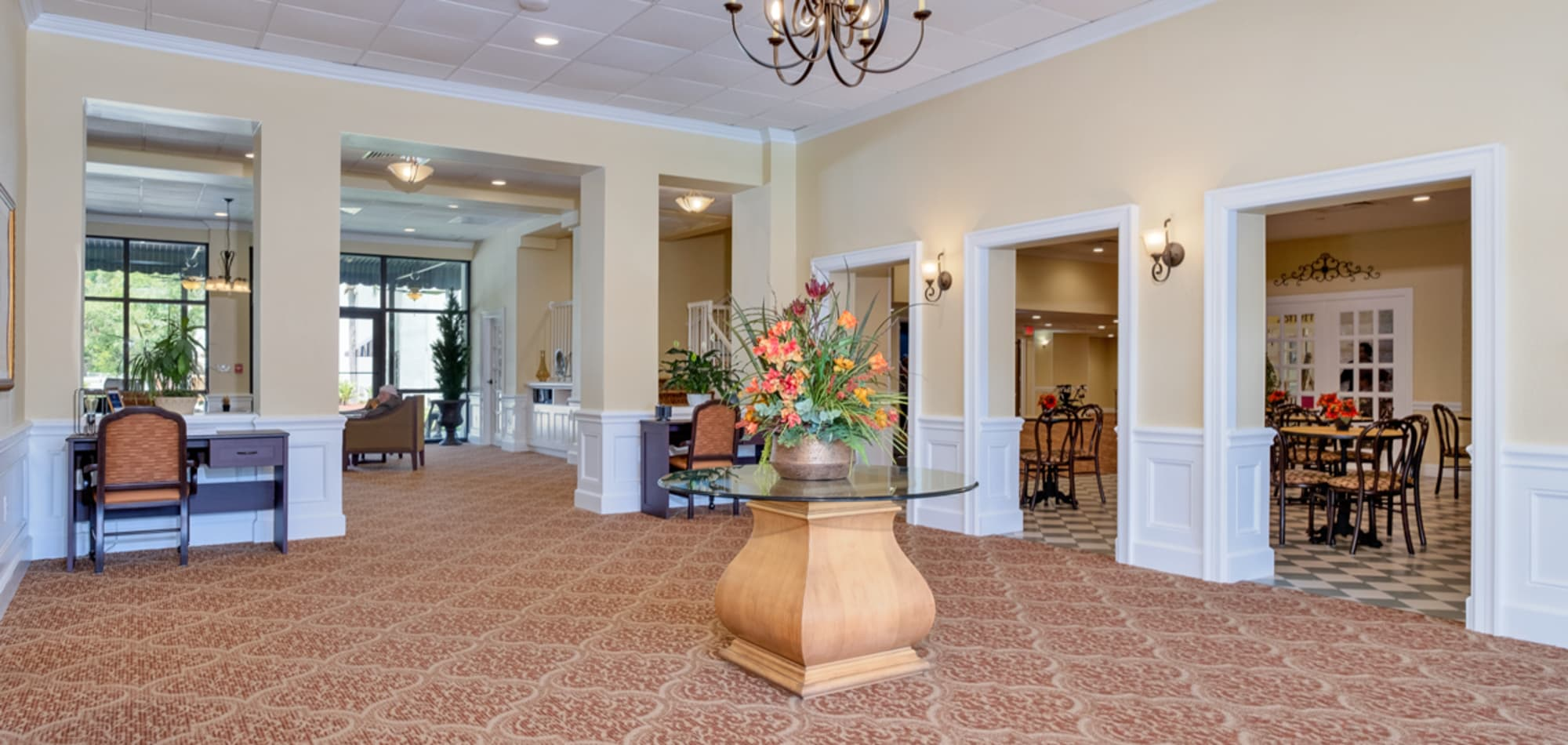 Grand Villa of Boynton Beach senior living in Florida