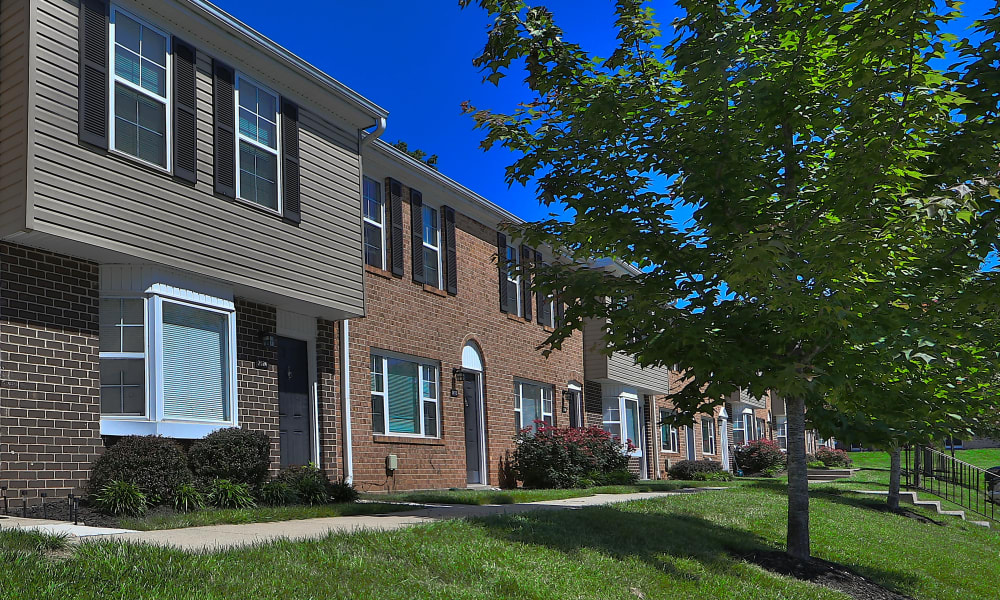 Exterior at The Townhomes at Diamond Ridge in Baltimore, Maryland