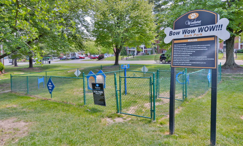 Dog Park at Woodacres Apartment Homes in Claymont, DE
