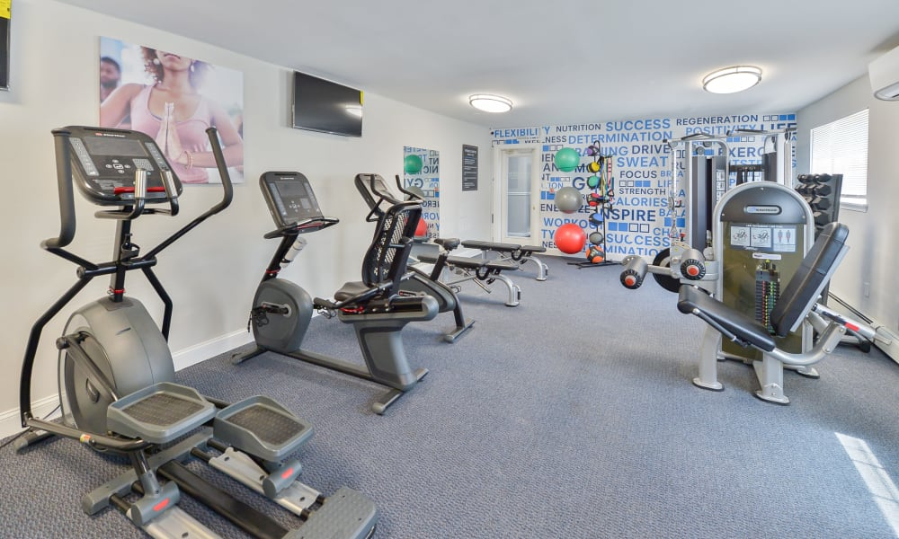 Fitness Center at Woodacres Apartment Homes in Claymont, DE
