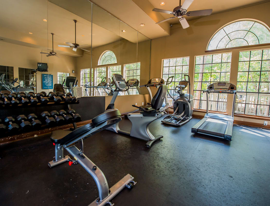 Fitness center at The Trace of Ridgeland in Ridgeland, Mississippi