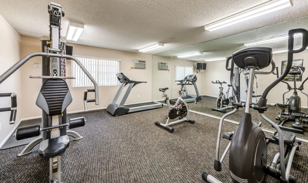 Enjoy Apartments with a Gym at The Ritz in Studio City, California
