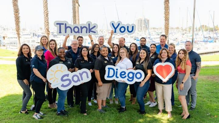 San Diego Self Storage group photo