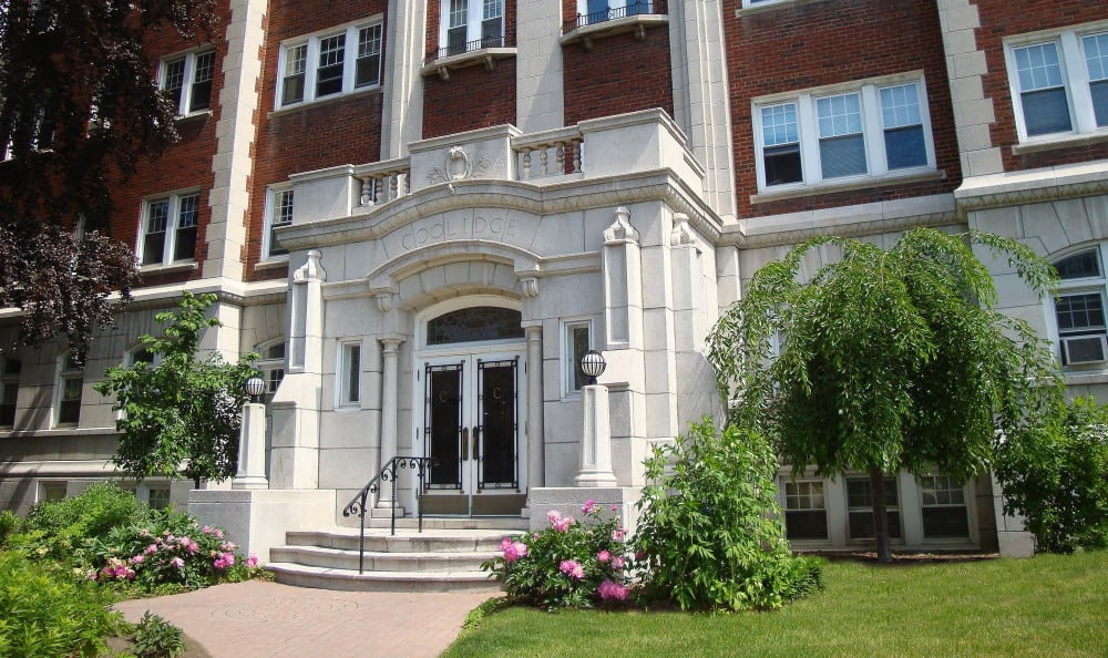 East Avenue Apartments exterior in Rochester, New York