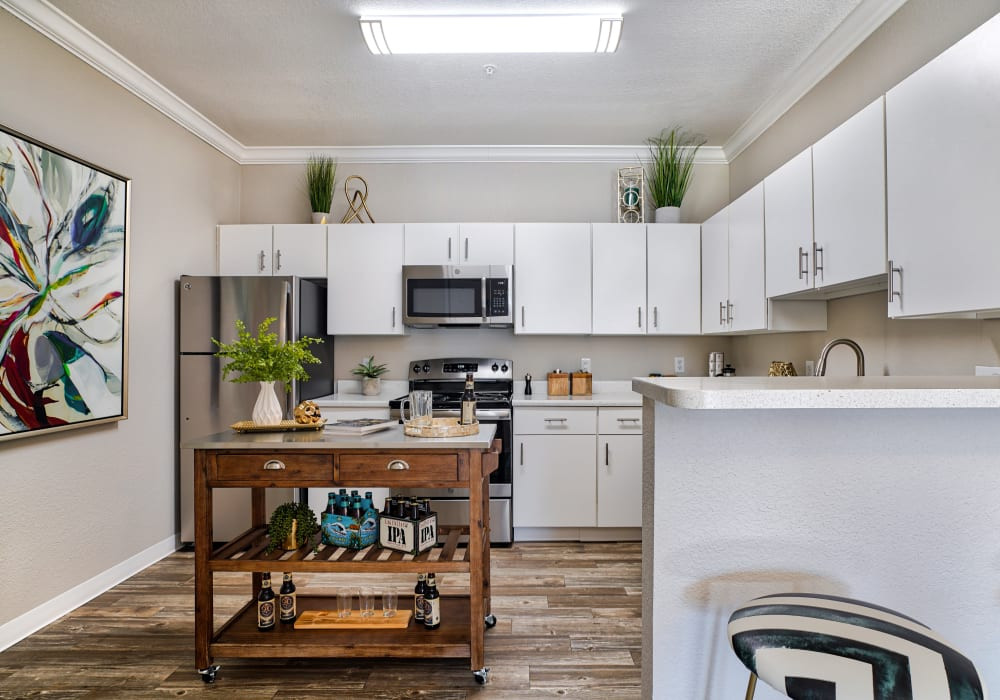Large Kitchen in Modern Apartments at Pavilions at Silver Sage