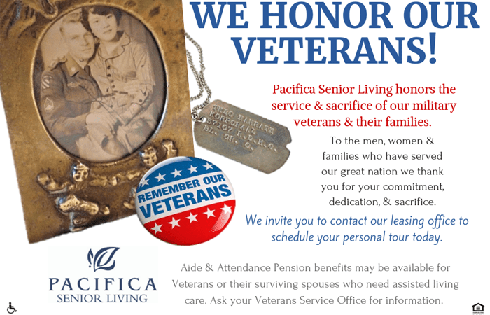 At The Village at Hayes Valley in San Francisco,California we honor our veterans