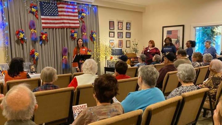 Honoring past and present Veterans