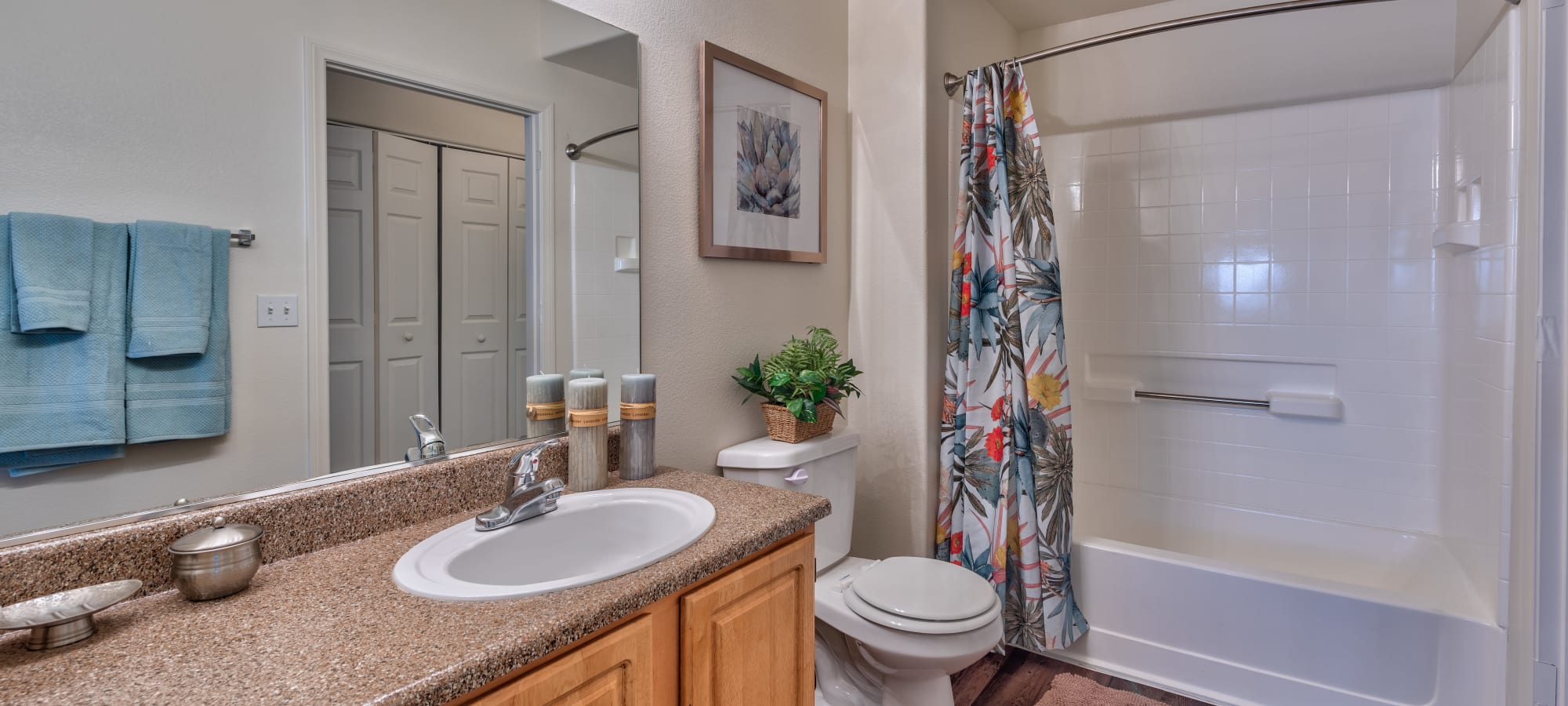 Large bathroom at Shadow Hills at Lone Mountain in Las Vegas, Nevada