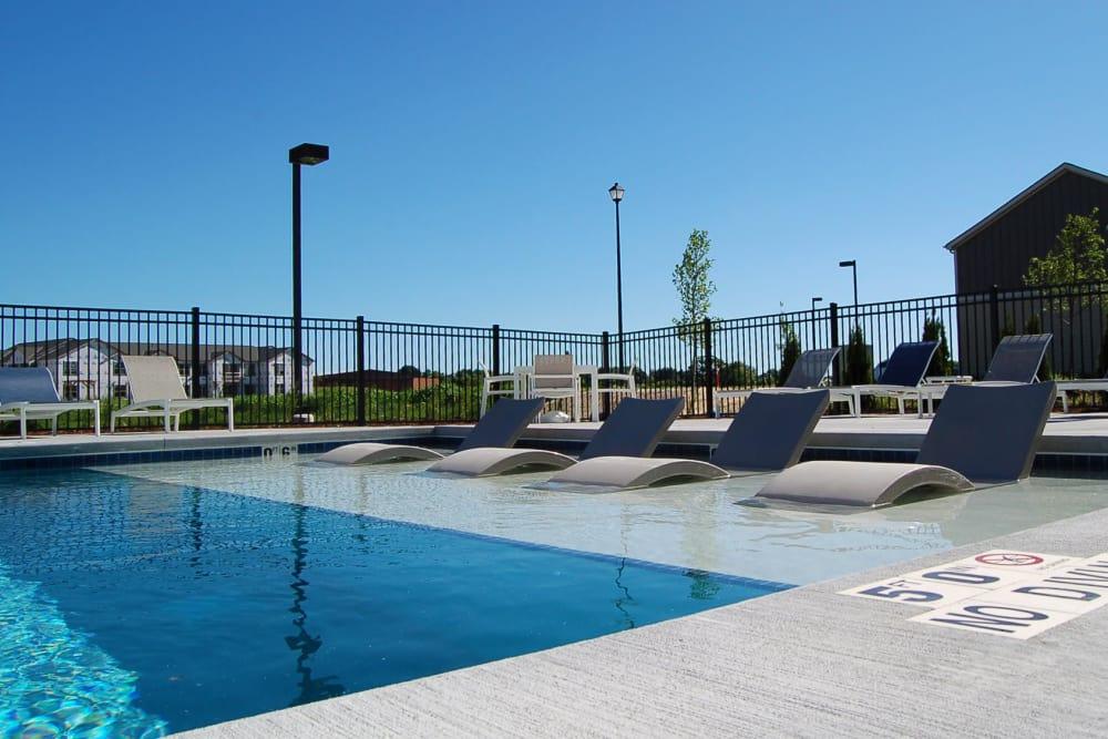 Pool view at Springs at Sun Prairie