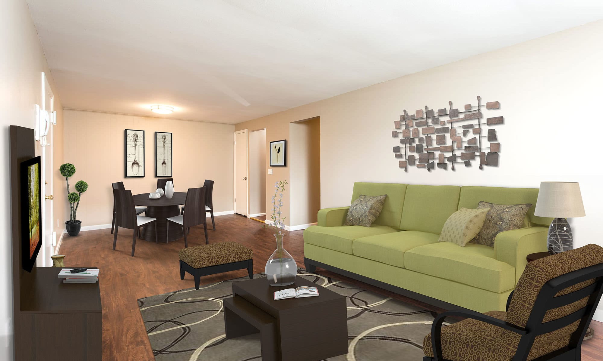 Apartments at Wellington Manor in Liverpool, New York