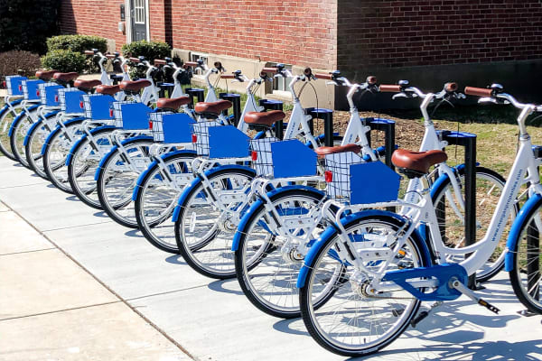 Bike Share & Amazon Package Lockers Coming Soon to Wedgewood Hills Apartment Homes