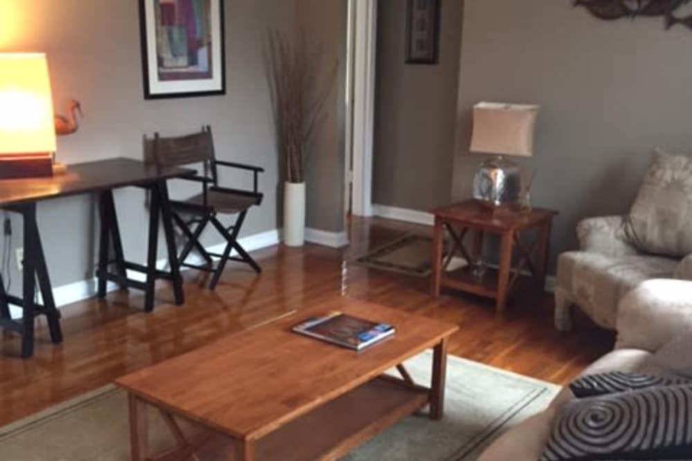 Living room at Lalor Gardens