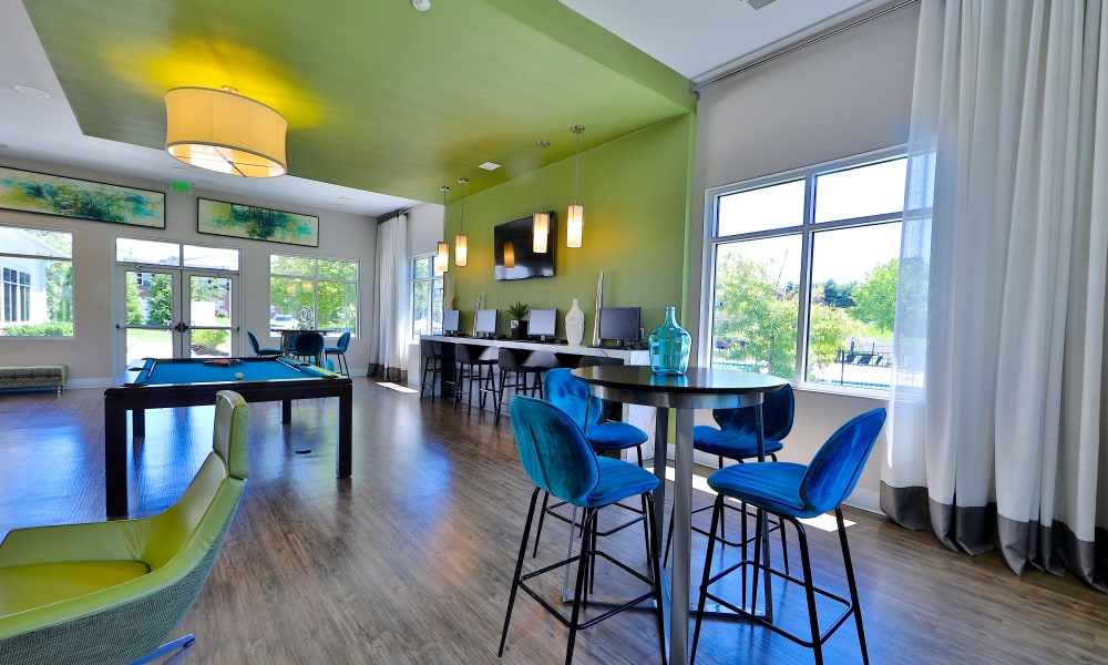 Clubhouse at The Townhomes at Diamond Ridge in Baltimore, Maryland