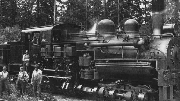 R.D. Merrill logging