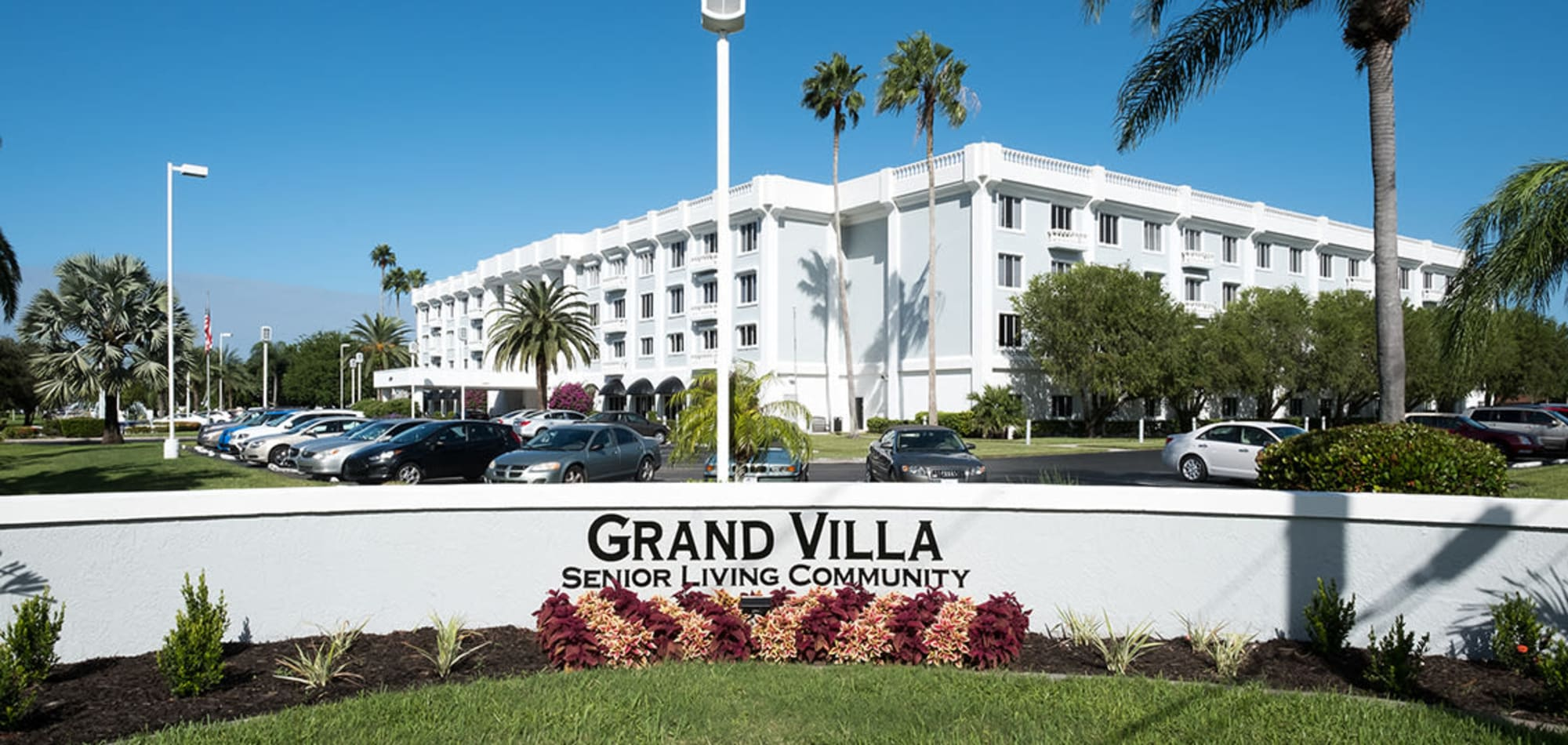 Grand Villa of Fort Myers senior living in Florida