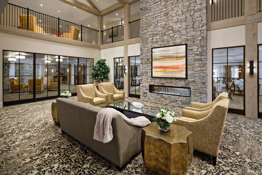 Maplewood Senior Living offers a luxurious clubhouse in Westport, Connecticut