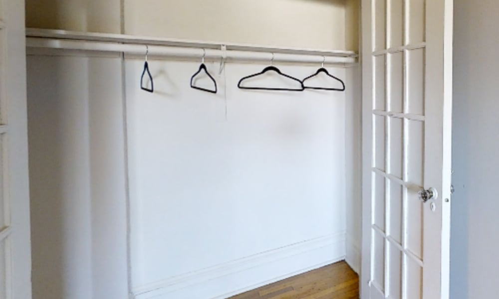 Closet of Hillside Gardens Apartment Homes in Nutley, New Jersey