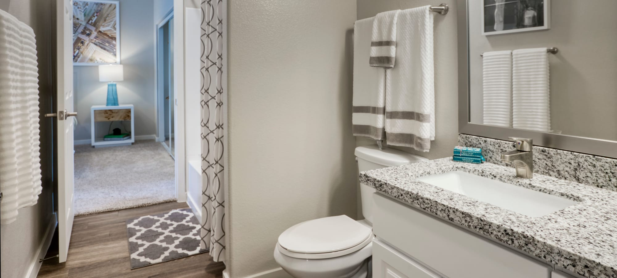 Bright Bathroom at Waterside at Ocotillo