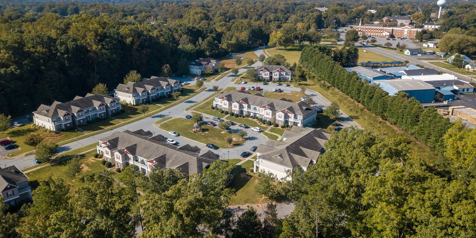 Ariel View at Clemmons Station Apartment Homes in Clemmons, North Carolina