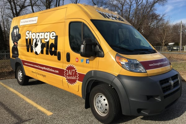 Free Truck with Move in at Storage World