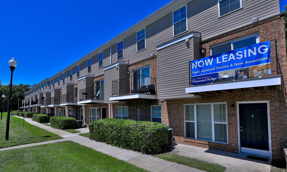 Leasing Office at The Townhomes at Diamond Ridge in Baltimore, Maryland