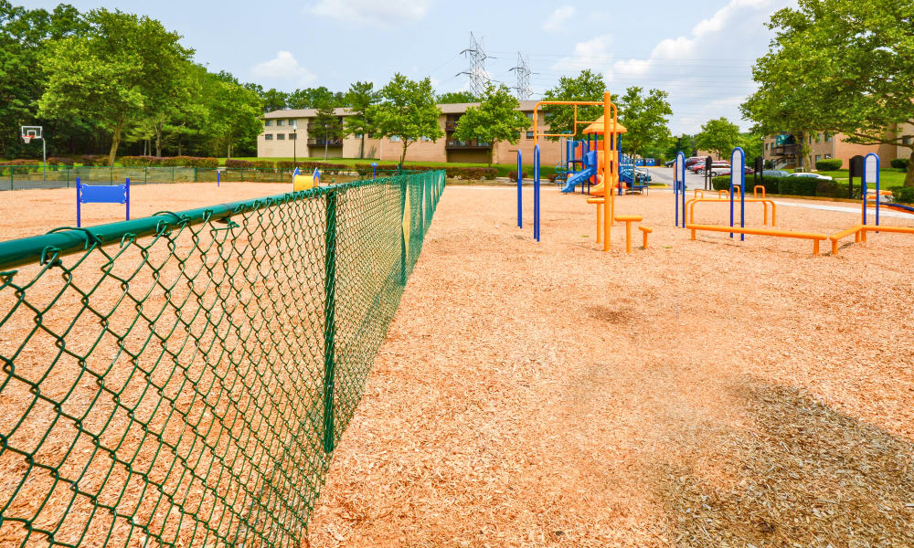 Playground area at Villages at Montpelier Apartment Homes in Laurel, MD