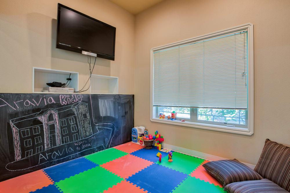 Playroom at Aravia Apartments in Tacoma, WA