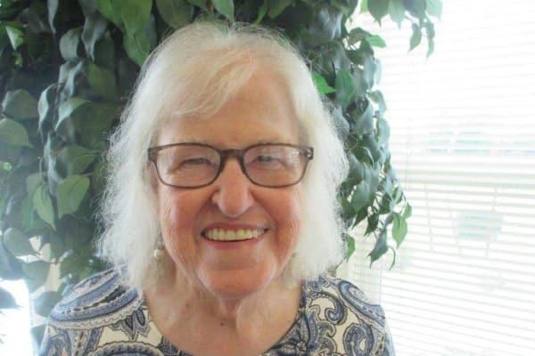 Eileen & Ed Glock at Estrella Estates Gracious Retirement Living in Goodyear, Arizona