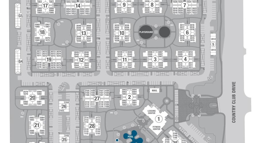 San Posada site plan