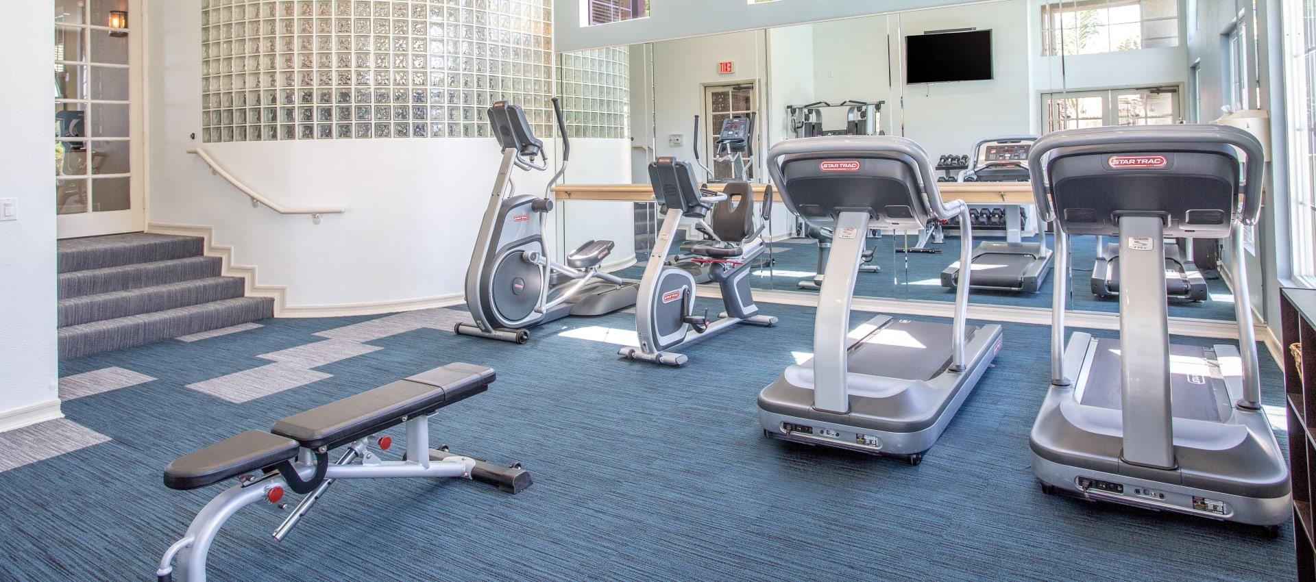 fitness center at Niguel Summit Condominium Rentals in Laguna Niguel, CA