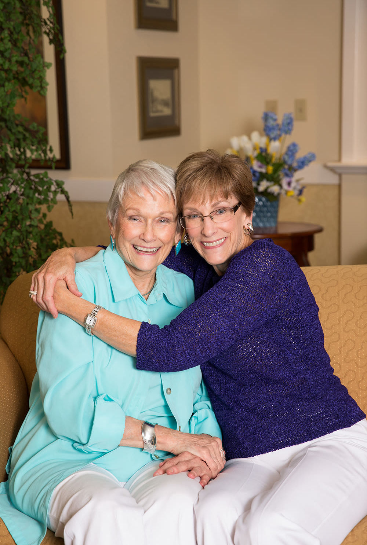 Residents at Lakeview Senior Living
