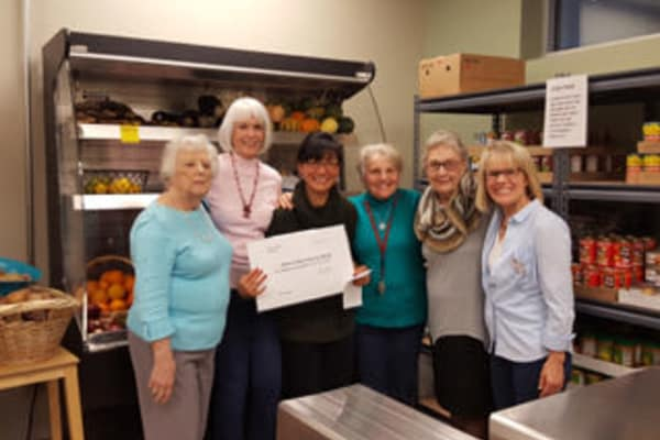Arbour Square of Harleysville residents' Association donates $1,000 to manna on Main Street