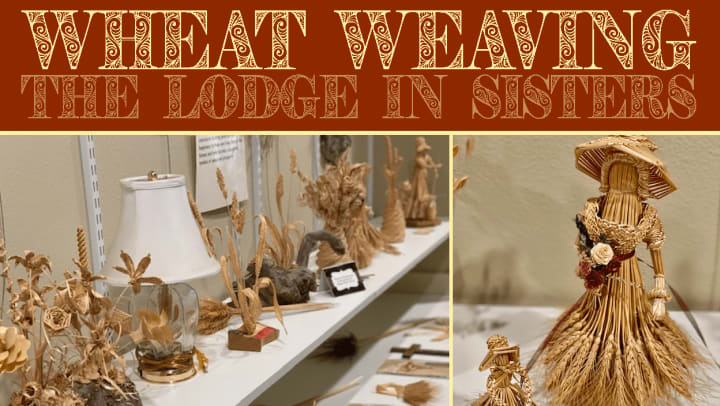 Wheat Weaving Image, The Lodge in Sisters