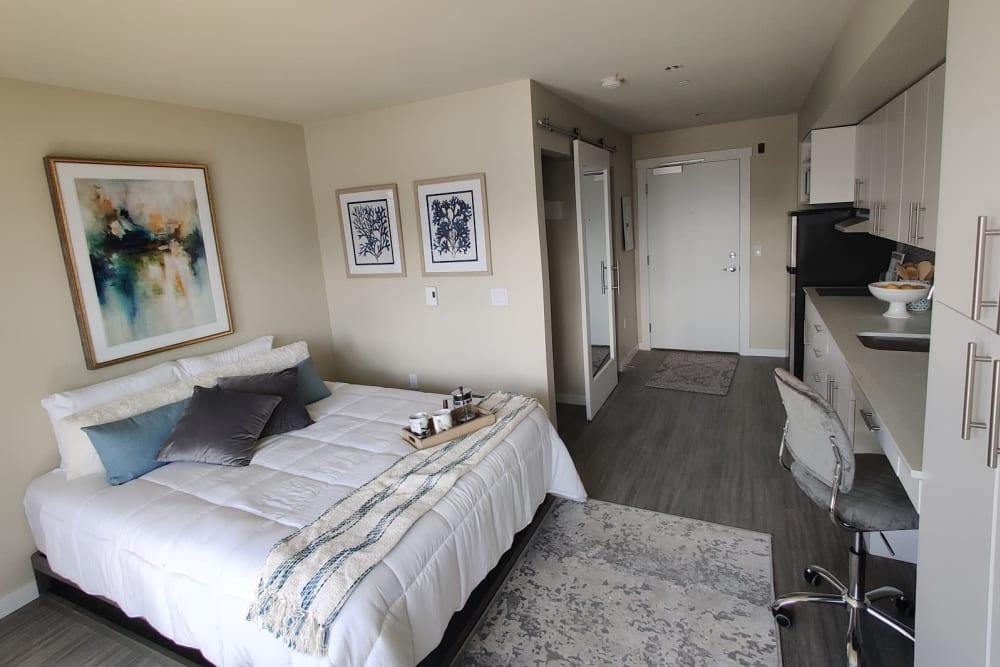 Microstudio apartment at Cubix at Othello in Seattle, WA