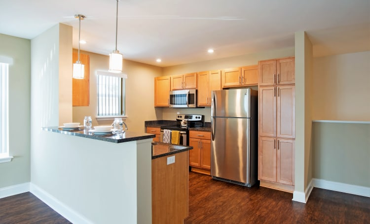 Fully Equipped Kitchen at Hampton Run in Glenville